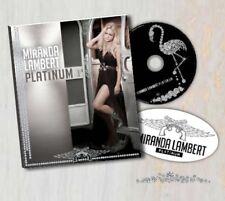 MIRANDA LAMBERT - Platinum ZINEPAK  (CD, Jun-2014, Sony Music)  NEW