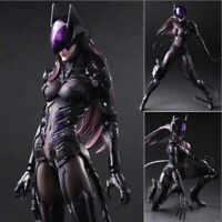 Play Arts Kai Batwoman Arkham Knight Catwoman Action Figure Toy Doll Model