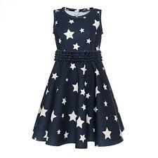 Monnalisa  ♥ Sternen Kleid Neopren blau ♥ Gr. 104 ♥ NEU ♥ Winter 19/20