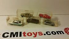HERPA minature car lot x5 Mercedes 350sl 500se Audi 200 Opel kadett BMW 323i