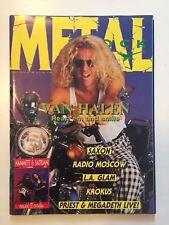 METAL SHOCK -  N° 25 / 26 - 1988 - RIVISTA MUSICA - VAN HALEN - SAXON - KROKUS
