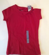 CHEROKEE Red Short Sleeved Tee NWT Size XS 4-5