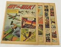 1944 seven page cartoon story ~ CAPTAIN FRANK P BENDER