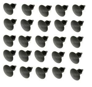 PANEL TRIM RETAINER - INTERIOR - GM/CHRYSLER/AMC QTY 25 BLACK NYLON 700-368