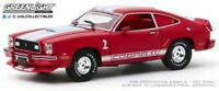 GREENLIGHT 86337 FORD MUSTANG II COBRA II red with white stripes model car 1:43