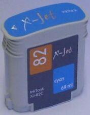 komp. Tinte X-JET 500 800 cyan C4911A  Nr.  # 82, 69ml  HP82 C4911