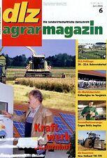 dlz 6 06 2006 New Holland TM 190 F Rauch AGT6036 Weidezaunbau Biogas Pflanzenbau