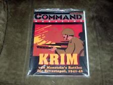 Command Magazine 1990 - #6 - KRIM game - Sevastopol 1941-42 Crimea   (Unpunched)