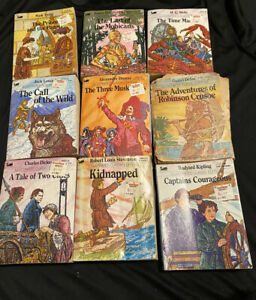 Moby Books Illustrated Classic Editions 9 Books Paperbacks