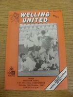 13/10/1990 Welling United v Merthyr Tydfil  .  Thanks for viewing our item, we t