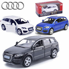 1:36 AUDI Q7 V12 SUV Pull Back Diecast Model Vehicles Car Decor Collection Toy