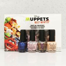 OPI - DISNEY MUPPETS MOST WANTED 4pcs Mini Pack Kit Set Collection DC M16