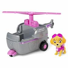 Paw Patrol Skye Helicopter Vehicle Collectible Figure Flight Spinning Propeller