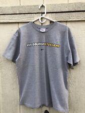 Pittsburgh Steelers Nike Center Swoosh T Shirt Large Nfl Afc Vintage 90s