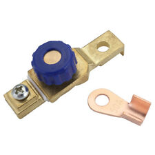 Motorcycle Battery Cut off Disconnect Switch W/ Ring Terminal for 6V/12V Battery