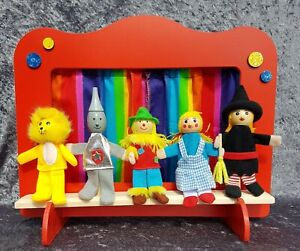 Puppet Theatre & Fairy Story Finger Puppets