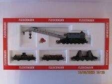 Fleischmann 5597 HO Kranzugset Krupp-Ardelt in OVP