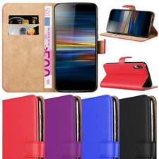 Xperia L3 Case Leather Wallet Flip Magnet Book Stand Cover for Sony Xperia L3