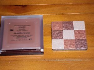 CLINIQUE Shimmering Tones Powder 01 GOLDEN BRONZE Full Size Refill .31 oz New