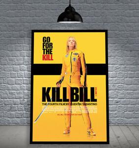 KILL BILL: VOL. 1 2003 TARANTINO FRAMED MOVIE POSTER PRINT CINEMA A1 & 60X40CM