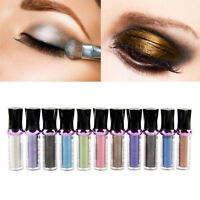 Single Roller Color Eyeshadow Glitter Pigment Loose Powder Eye Shadow Makeup UK