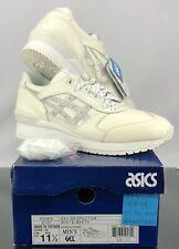 ASICS Gel-respector H53ek-0101 White Leather Casual Shoes Medium (d M) Men Whites 9