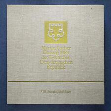 Martin Luther Ehrung 1983 der DDR | Sammlerbox mit 8 LPs, absolut selten