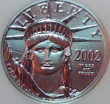 2002 1/4 oz Platinum American Eagle MS-69 NGC $25
