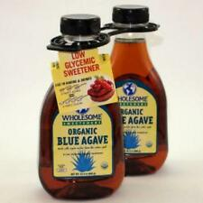 Wholesome Sweeteners Organic Blue Agave Nectar  72 oz in two 36 oz bottles
