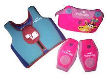 2 gilets de natation decathlon - nabaiji - 2-3 ans / 15-18 kg + 2-6 ans 15/30 Kg