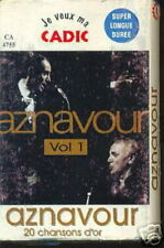 AZNAVOUR K7 AUDIO ALGERIE VOLUME 1