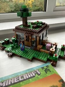 Lego Minecraft Set 21115 The First Night 100% Complete