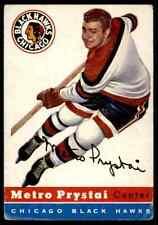1954-55 TOPPS METRO PRYSTAI CHICAGO BLACKHAWKS #24