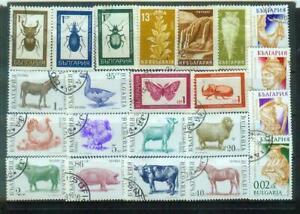 Lot Briefmarken aus Bulgarien