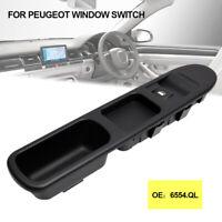 Commande Bouton Leve Vitre avant droit pour Peugeot 207 6554.QC 6554QC 6554ZL