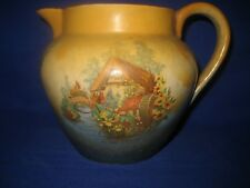 Old British Anchor Pottery Old Mill  Jug