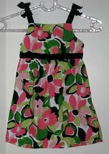 GYMBOREE Size 3T Multi-Color Floral Sleeveless Dress