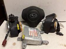 08 09 10 11 Subaru Impreza SRS safety set wheel belt module black excludes STI