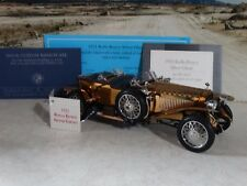 Franklin Mint 1921 Rolls-Royce Silver Ghost Copper 1:24 Scale Diecast Metal Car