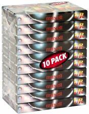10 Cassette Audio Vierge MAXELL UR 90 - K7 Ferro Neuf