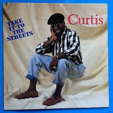 Curtis Mayfield-Take It To The Streets-1990 Curtom White Lbl -VG++/VG++  SOUL