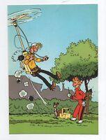 Carte Postale Trésors du Journal de Spirou n°20. Couverture allbum 38. FRANQUIN