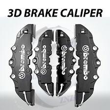 4pcs Black 3D Styling Disc Brake Caliper Cover Kit For Lexus 16-18 inch wheels