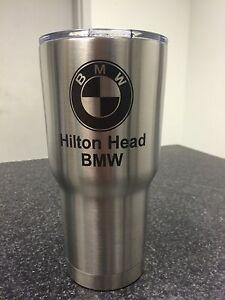 Hilton Head BMW RTIC tumbler 30oz