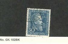 Germany, Postage Stamp, #686 Used, 1951 W.C. Rontgen