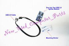 ➨➨➨ USB 2.0 Motherboard Header 9 Pin Internal USB Hub 2 Port Splitter ➨➨➨