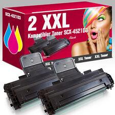 2 Kartuschen für Samsung SCX 4521 FR SCX-4521D3