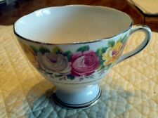 Gladstone Bone China England Tea Cup ONLY Floral Rosemary Pattern #5740 S