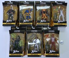 2017 Marvel Legends X-Men Wave 2  6 Inch Warlock BAF Set of 7