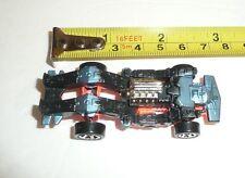 Hot Wheels 1986 Robot Car Speed Demons Blue Black vtg Mattel inc Character